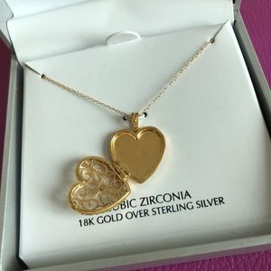 Giani Bernini Heart Necklace